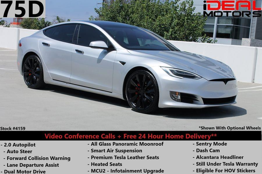 Used Tesla Model s 75D Sedan 4D 2018 | Ideal Motors. Costa Mesa, California