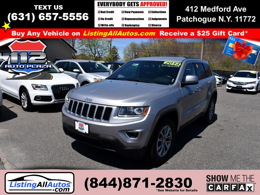 Used Jeep Grand Cherokee 4WD 4dr Laredo 2014 | www.ListingAllAutos.com. Patchogue, New York