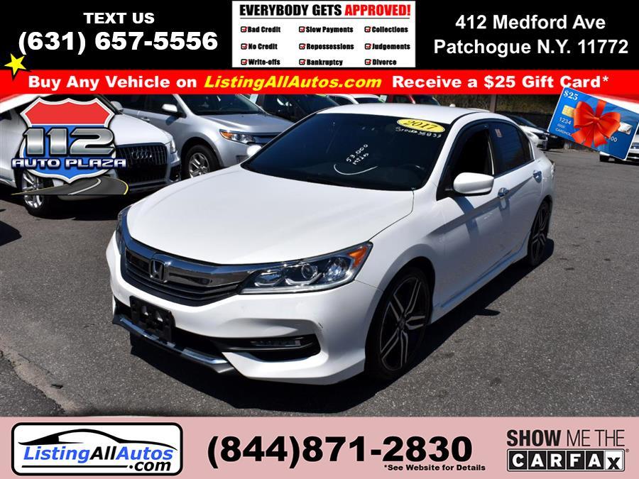 Used Honda Accord Sedan Sport CVT 2017 | www.ListingAllAutos.com. Patchogue, New York