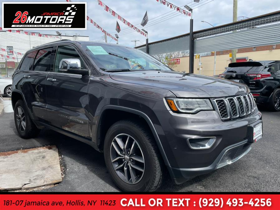 Used Jeep Grand Cherokee Limited Limited 4x4 2018   Jamaica 26 Motors. Hollis, New York