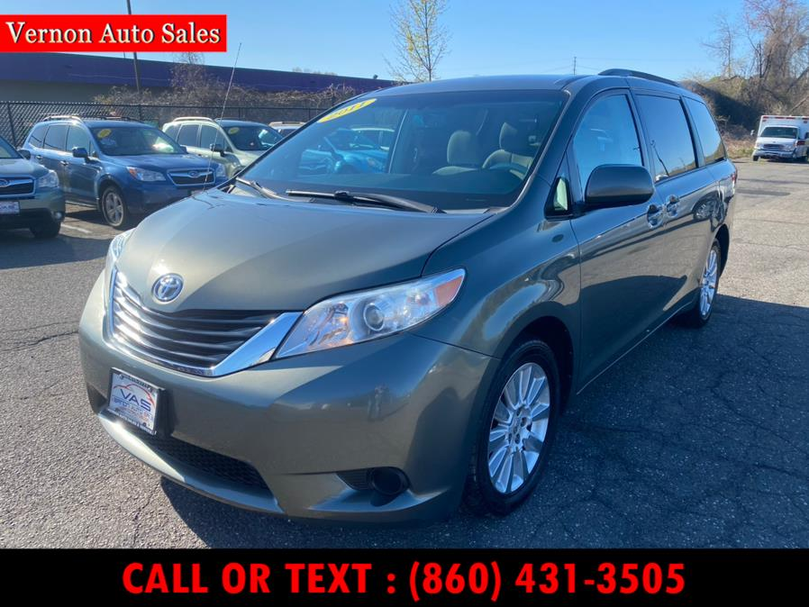 Used 2011 Toyota Sienna in Manchester, Connecticut   Vernon Auto Sale & Service. Manchester, Connecticut