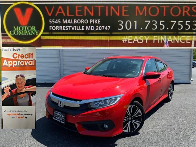 Used Honda Civic Sedan EX-L 2016 | Valentine Motor Company. Forestville, Maryland