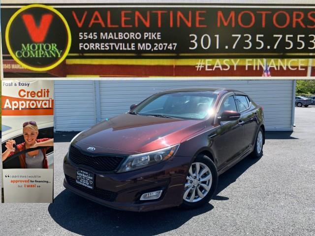 Used Kia Optima EX 2015 | Valentine Motor Company. Forestville, Maryland