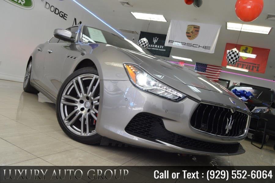 Used 2017 Maserati Ghibli in Bronx, New York | Luxury Auto Group. Bronx, New York
