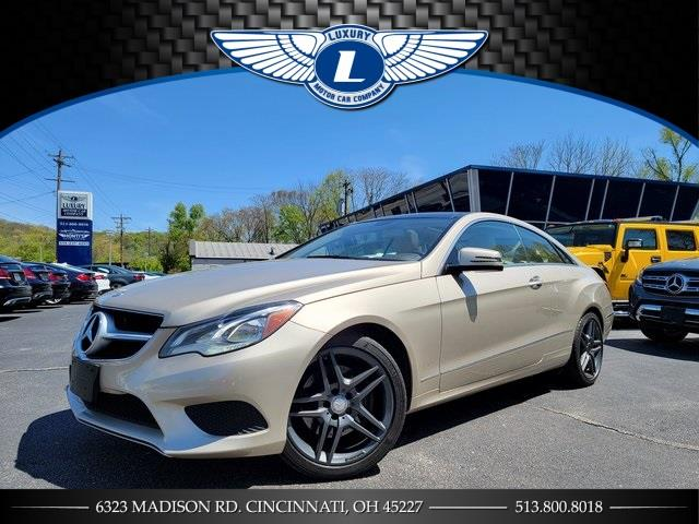 Used 2014 Mercedes-benz E-class in Cincinnati, Ohio | Luxury Motor Car Company. Cincinnati, Ohio