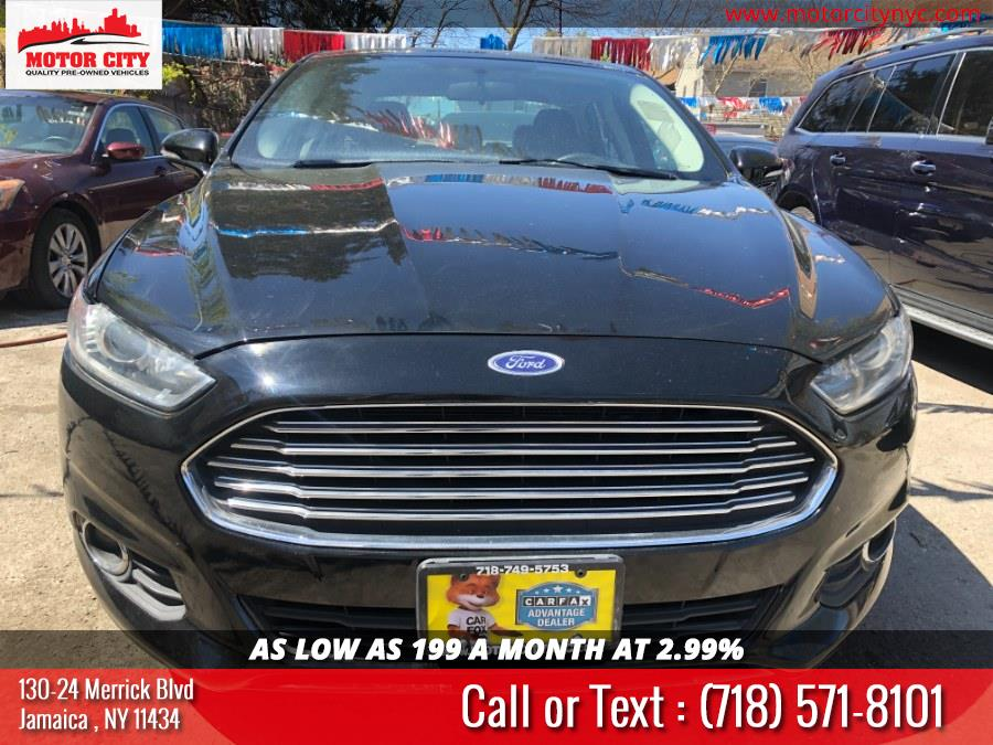 Used 2016 Ford Fusion in Jamaica, New York | Motor City. Jamaica, New York