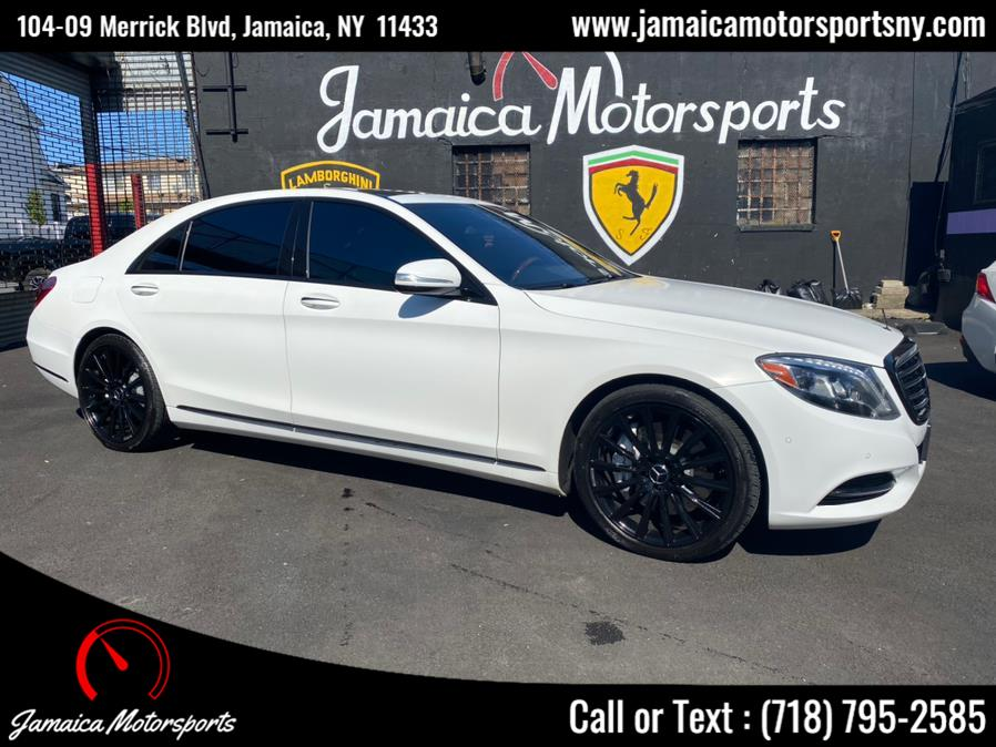 Used 2015 Mercedes-Benz S-Class in Jamaica, New York | Jamaica Motor Sports . Jamaica, New York
