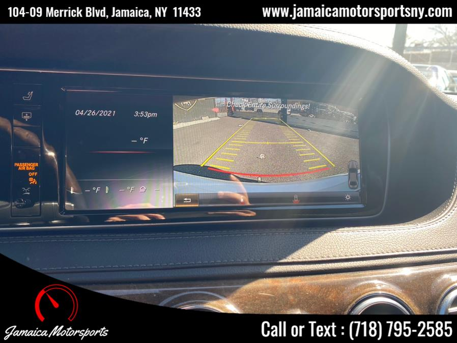 Used Mercedes-Benz S-Class 4dr Sdn S550 4MATIC 2015 | Jamaica Motor Sports . Jamaica, New York