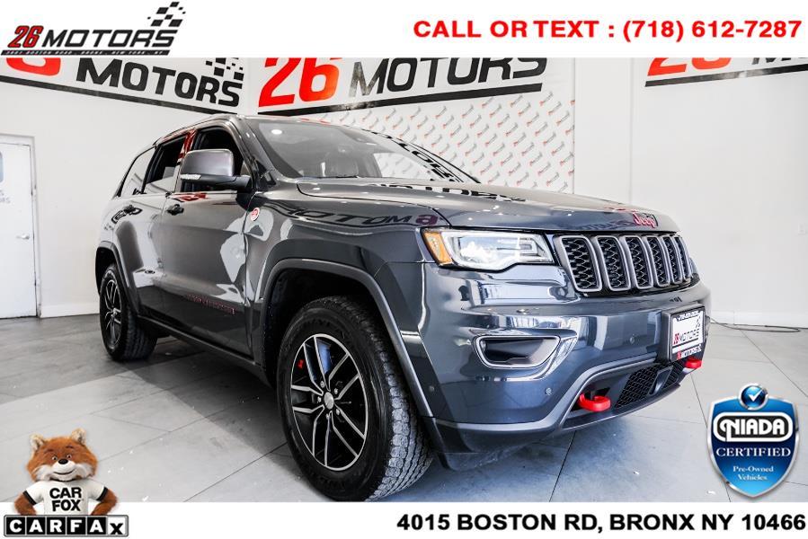Used Jeep Grand Cherokee Trailhawk 4x4 *Ltd Avail* 2018 | 26 Motors Corp. Bronx, New York