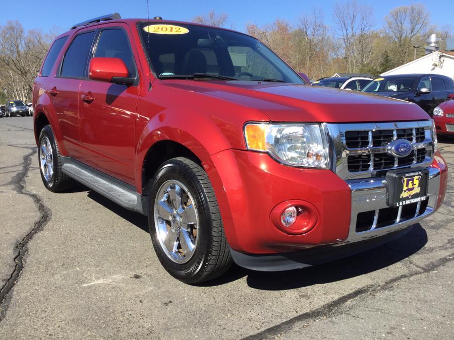 Used Ford Escape 4WD 4dr Limited 2012   L&S Automotive LLC. Plantsville, Connecticut