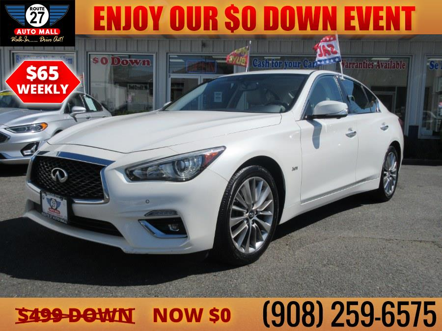 Used 2018 INFINITI Q50 in Linden, New Jersey | Route 27 Auto Mall. Linden, New Jersey