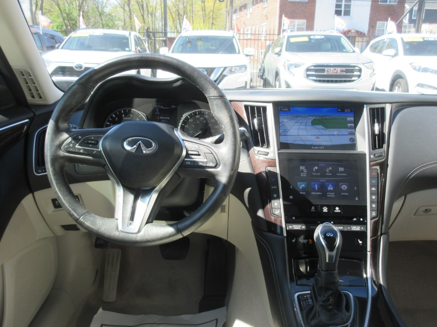 Used INFINITI Q50 3.0t LUXE AWD 2018 | Route 27 Auto Mall. Linden, New Jersey