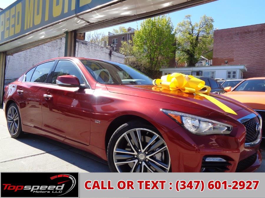 Used 2016 INFINITI Q50S in Jamaica, New York | Top Speed Motors LLC. Jamaica, New York