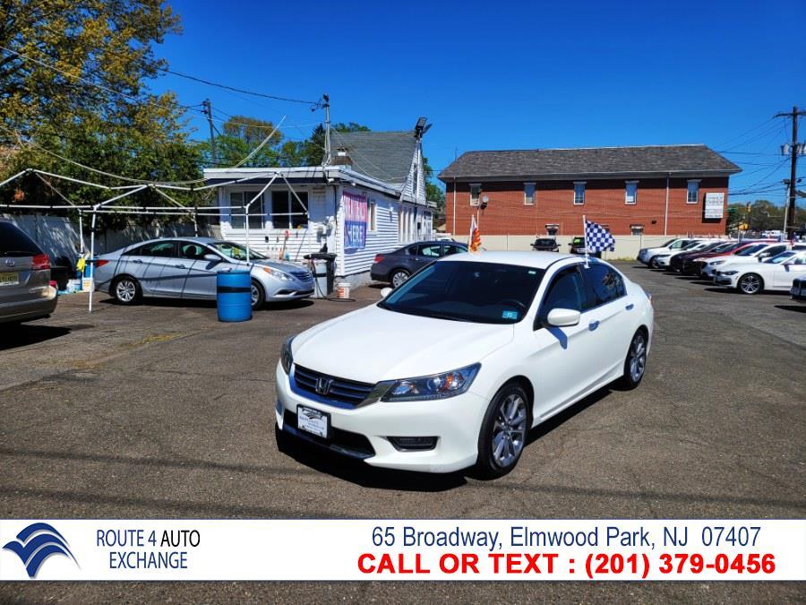 Used Honda Accord Sedan 4dr I4 CVT Sport PZEV 2014 | Route 4 Auto Exchange. Elmwood Park, New Jersey