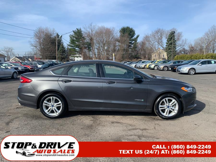 Used Ford Fusion Hybrid SE FWD 2018 | Stop & Drive Auto Sales. East Windsor, Connecticut