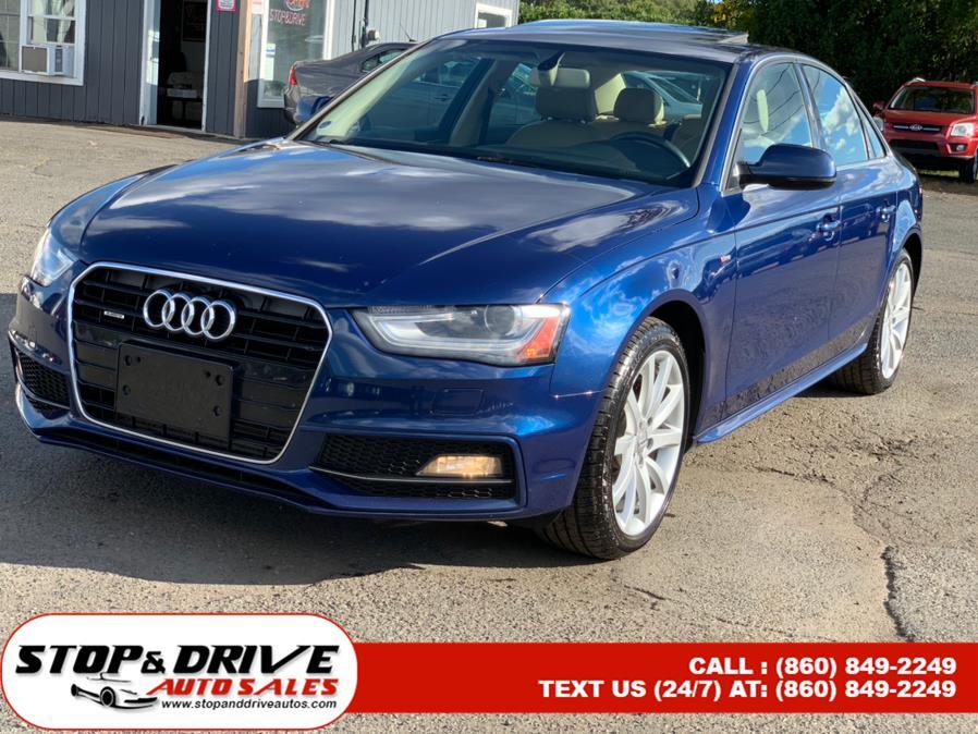 Used Audi A4 4dr Sdn Auto quattro 2.0T Premium 2014 | Stop & Drive Auto Sales. East Windsor, Connecticut