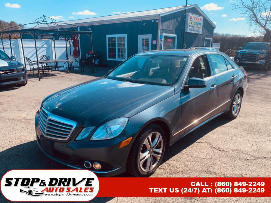 Used 2011 Mercedes-Benz E-Class in East Windsor, Connecticut | Stop & Drive Auto Sales. East Windsor, Connecticut