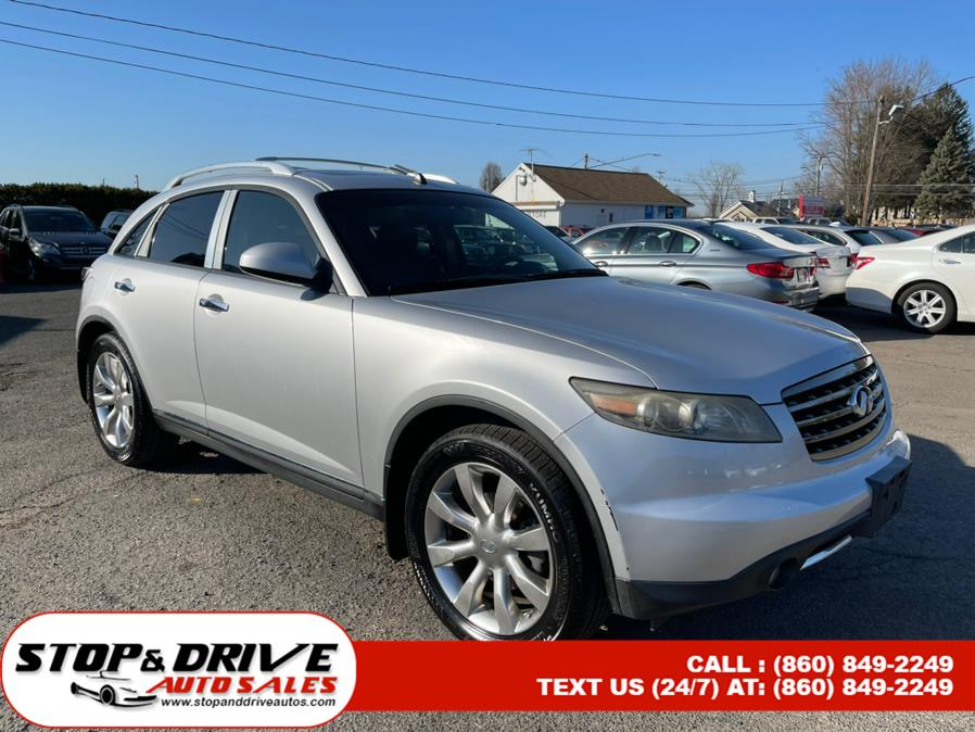 Used Infiniti FX35 4dr AWD 2007 | Stop & Drive Auto Sales. East Windsor, Connecticut