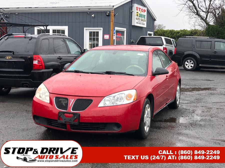 Used 2007 Pontiac G6 in East Windsor, Connecticut | Stop & Drive Auto Sales. East Windsor, Connecticut