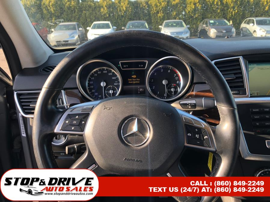 Used Mercedes-Benz M-Class 4MATIC 4dr ML350 2014 | Stop & Drive Auto Sales. East Windsor, Connecticut