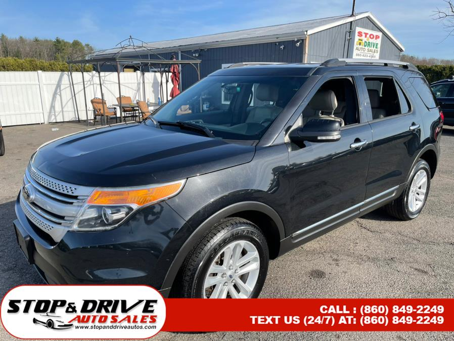 Used Ford Explorer 4WD 4dr XLT 2014 | Stop & Drive Auto Sales. East Windsor, Connecticut