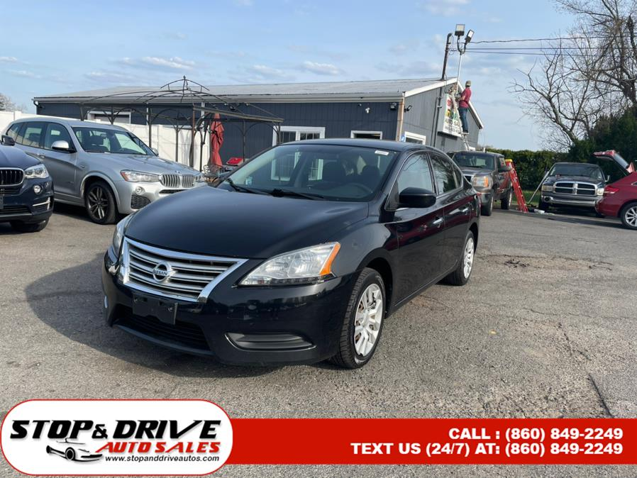 Used 2014 Nissan Sentra in East Windsor, Connecticut | Stop & Drive Auto Sales. East Windsor, Connecticut