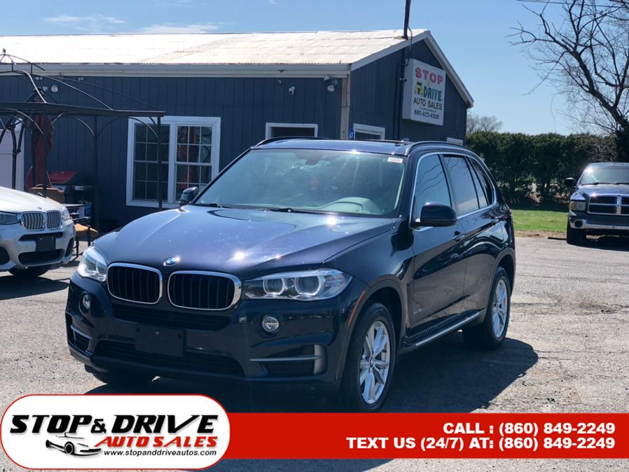 Used BMW X5 AWD 4dr xDrive35i 2014 | Stop & Drive Auto Sales. East Windsor, Connecticut