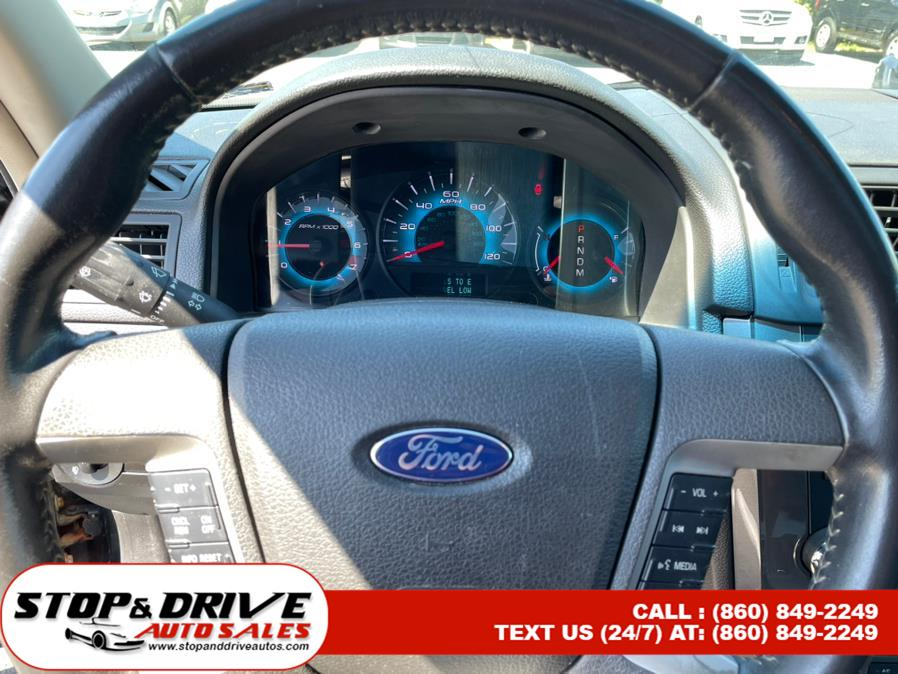 Used Ford Fusion 4dr Sdn SPORT FWD 2010   Stop & Drive Auto Sales. East Windsor, Connecticut