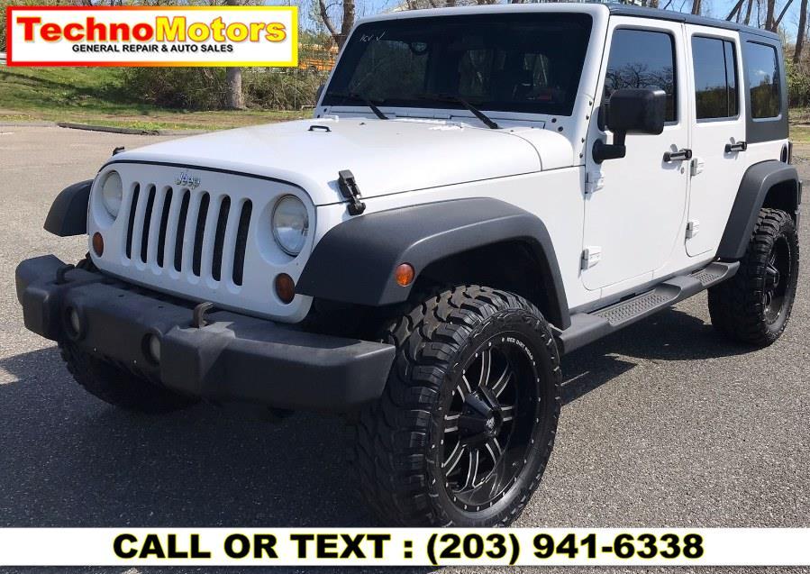 Used Jeep Wrangler 4WD 4dr Unlimited X 2007 | Techno Motors . Danbury , Connecticut