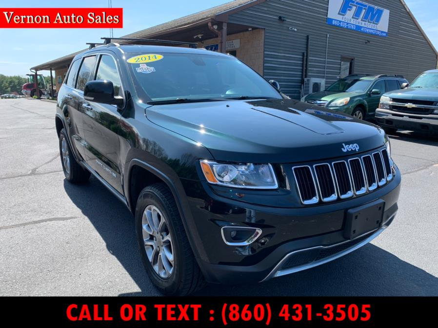 Used Jeep Grand Cherokee 4WD 4dr Limited 2014 | Vernon Auto Sale & Service. Manchester, Connecticut