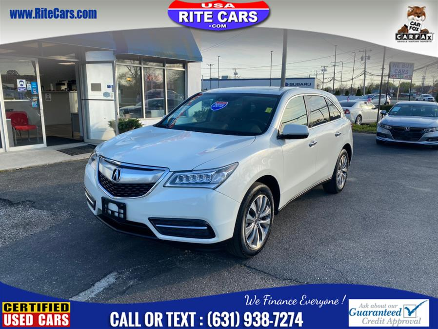 Used 2015 Acura MDX in Lindenhurst, New York | Rite Cars, Inc. Lindenhurst, New York