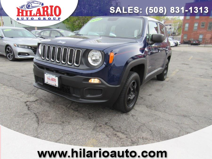 Used 2017 Jeep Renegade in Worcester, Massachusetts | Hilario's Auto Sales Inc.. Worcester, Massachusetts