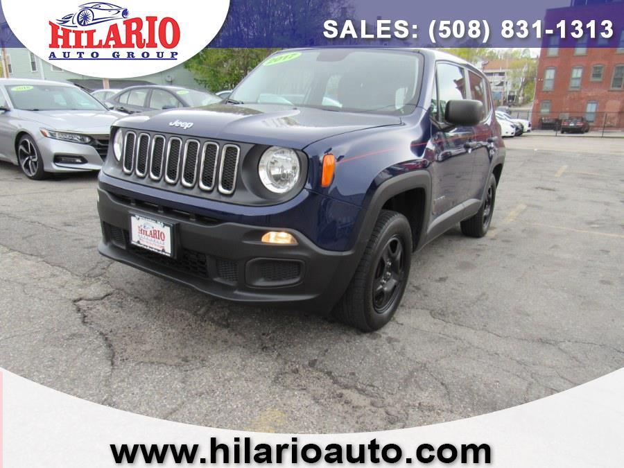 Used Jeep Renegade Sport 4x4 2017 | Hilario's Auto Sales Inc.. Worcester, Massachusetts