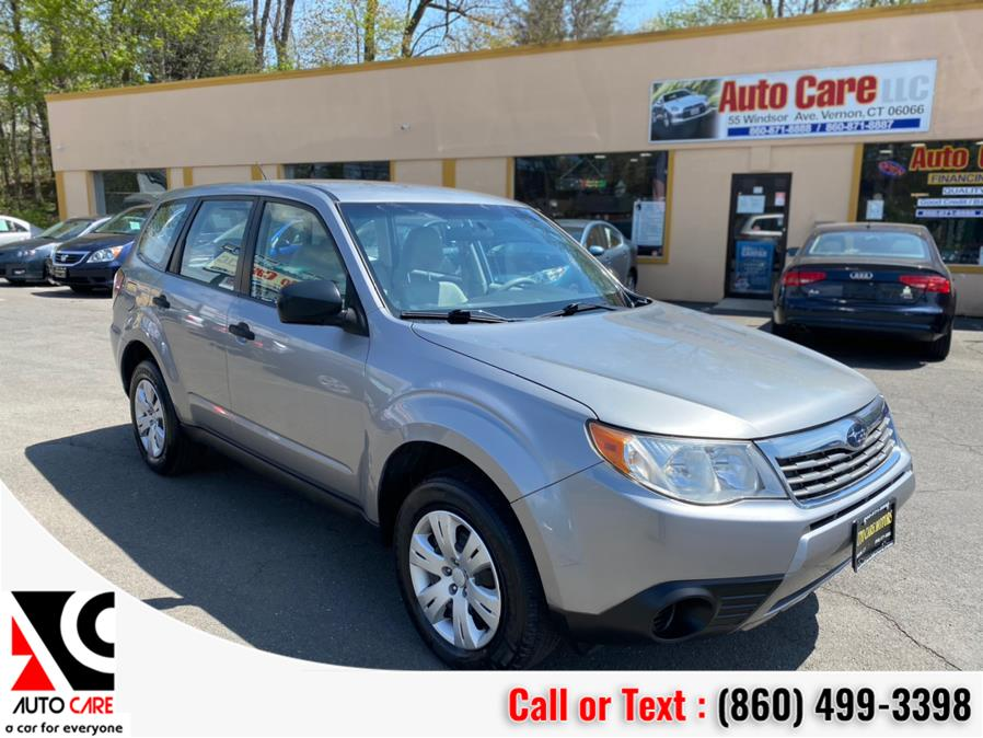 Used Subaru Forester (Natl) 4dr Auto X 2009 | Auto Care Motors. Vernon , Connecticut