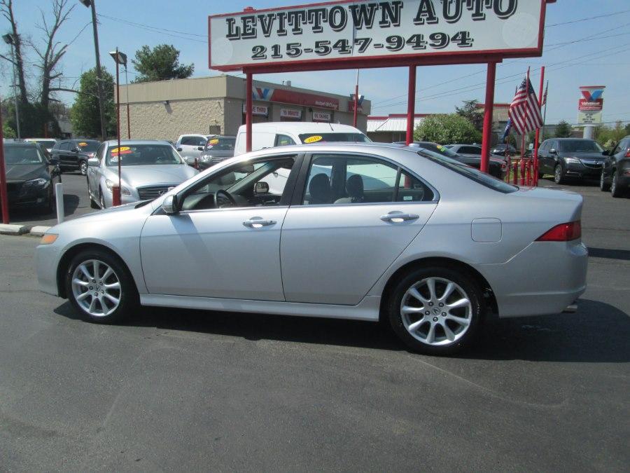 Used Acura TSX 4dr Sdn Auto Nav 2008 | Levittown Auto. Levittown, Pennsylvania