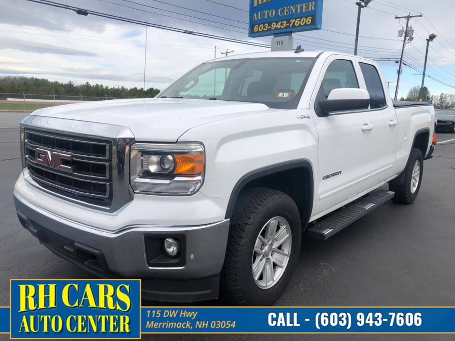 Used GMC Sierra 1500 Double Cab SLE 4WD 2014 | RH Cars LLC. Merrimack, New Hampshire
