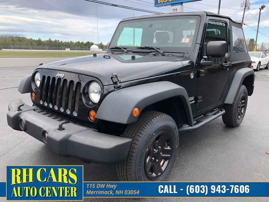 Used 2010 Jeep Wrangler in Merrimack, New Hampshire | RH Cars LLC. Merrimack, New Hampshire