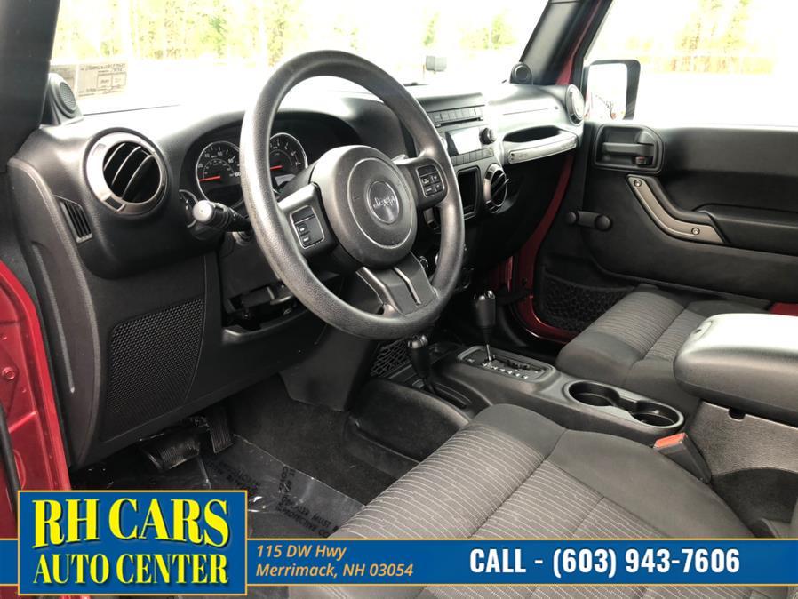 Used Jeep Wrangler Sport 4WD 2011   RH Cars LLC. Merrimack, New Hampshire