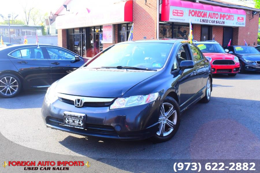 Used Honda Civic Sdn 4dr Auto EX-L 2008 | Foreign Auto Imports. Irvington, New Jersey