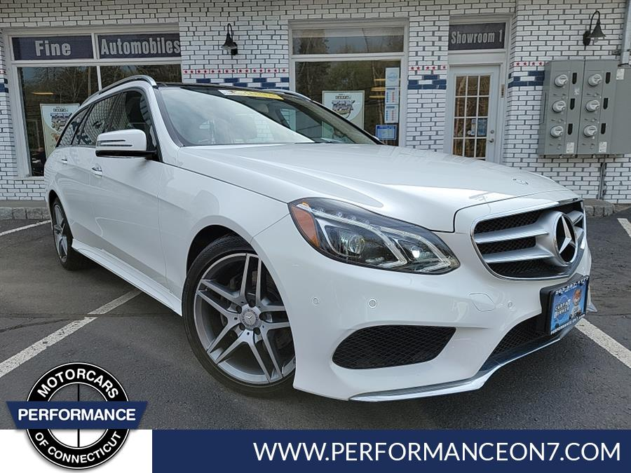 Used Mercedes-Benz E-Class 4dr Wgn E 350 Sport 4MATIC 2016 | Performance Motor Cars. Wilton, Connecticut