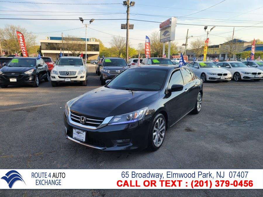 Used Honda Accord Sedan 4dr I4 CVT Sport 2015 | Route 4 Auto Exchange. Elmwood Park, New Jersey