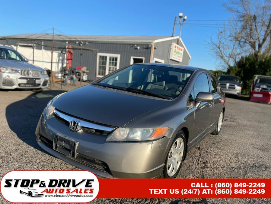 Used 2006 Honda Civic Sdn in East Windsor, Connecticut | Stop & Drive Auto Sales. East Windsor, Connecticut