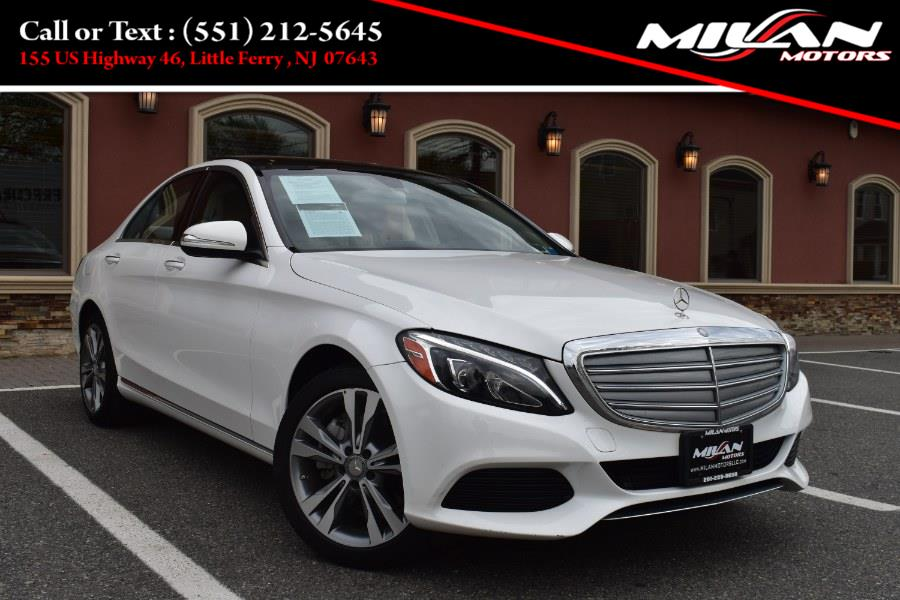 Used Mercedes-Benz C-Class 4dr Sdn C300 Luxury 4MATIC 2015   Milan Motors. Little Ferry , New Jersey