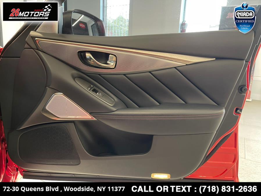 Used INFINITI Q50 RED SPORT 400 AWD 2018   26 Motors Queens. Woodside, New York