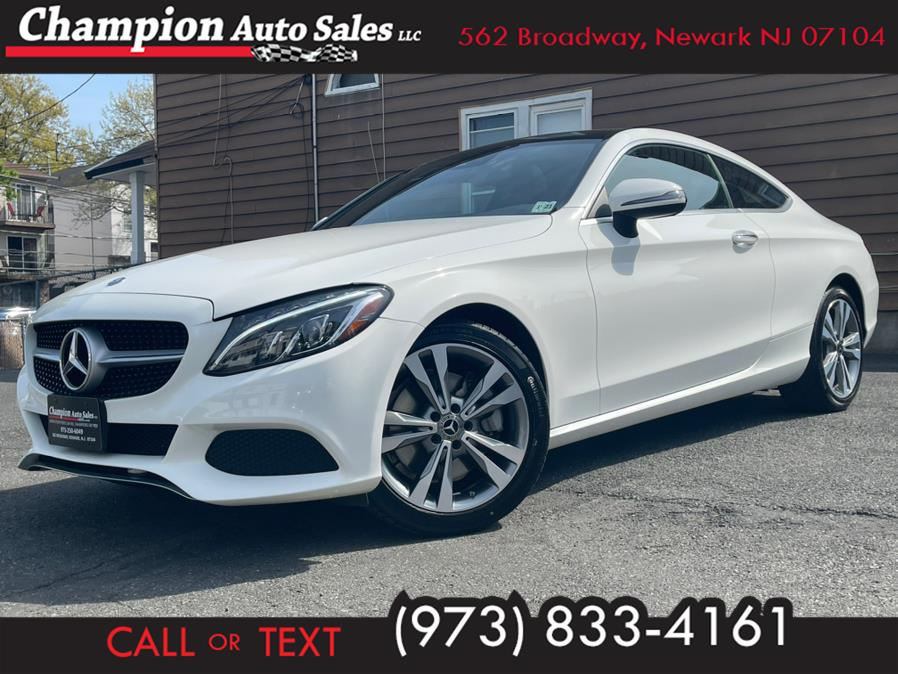 Used 2018 Mercedes-Benz C-Class in Newark, New Jersey | Champion Auto Sales. Newark, New Jersey
