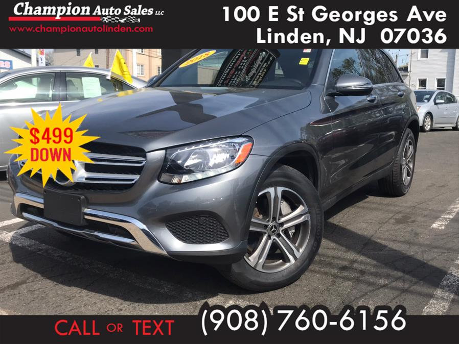 Used 2018 Mercedes-Benz GLC in Linden, New Jersey | Champion Auto Sales. Linden, New Jersey