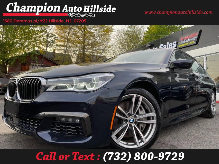 Used 2016 BMW 7 Series in Hillside, New Jersey | Champion Auto Hillside. Hillside, New Jersey