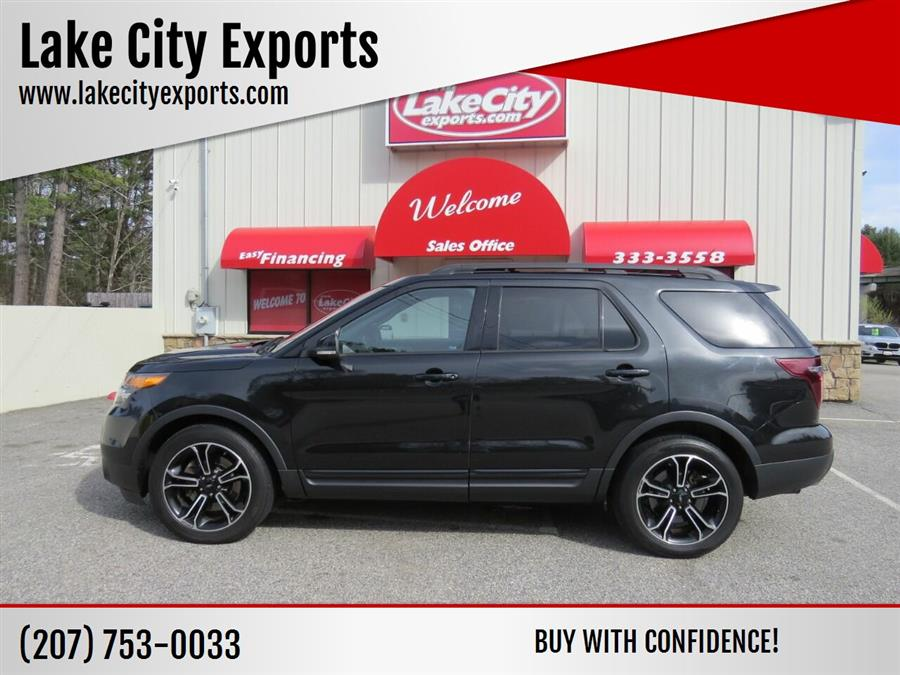Used Ford Explorer Sport AWD 4dr SUV 2015 | Lake City Exports Inc. Auburn, Maine