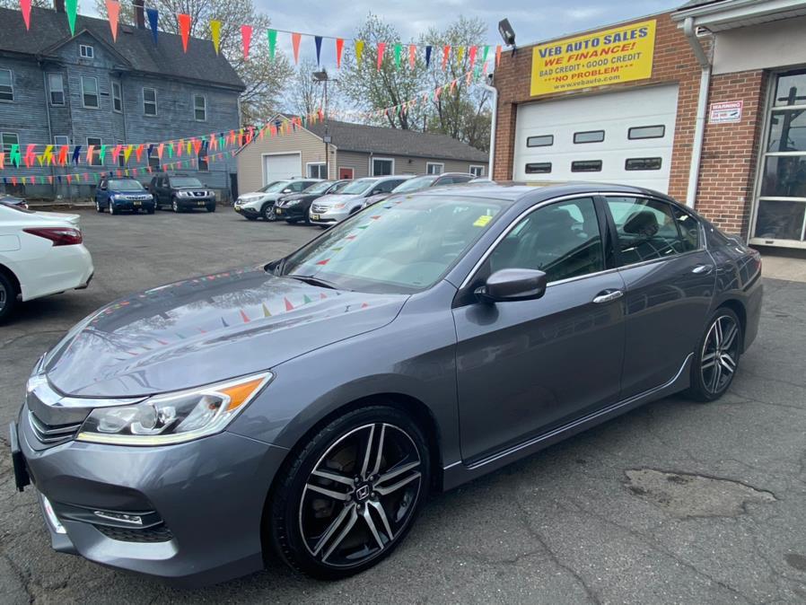 Used Honda Accord Sedan Sport SE CVT 2017   VEB Auto Sales. Hartford, Connecticut