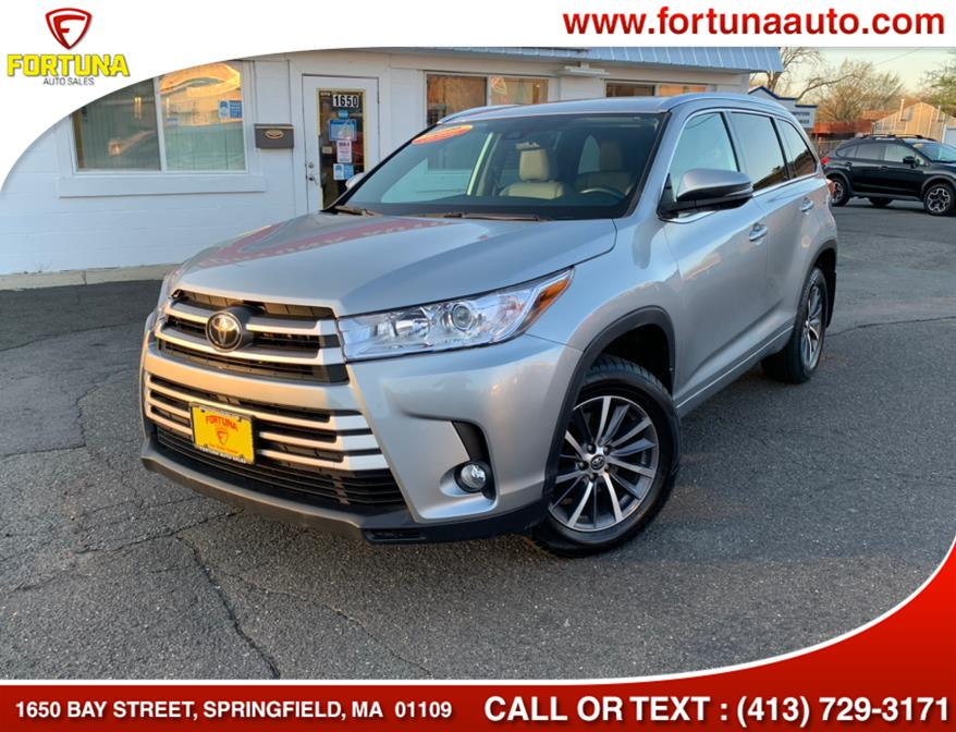 Used 2018 Toyota Highlander in Springfield, Massachusetts | Fortuna Auto Sales Inc.. Springfield, Massachusetts